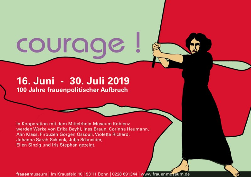 courage Ausstellung